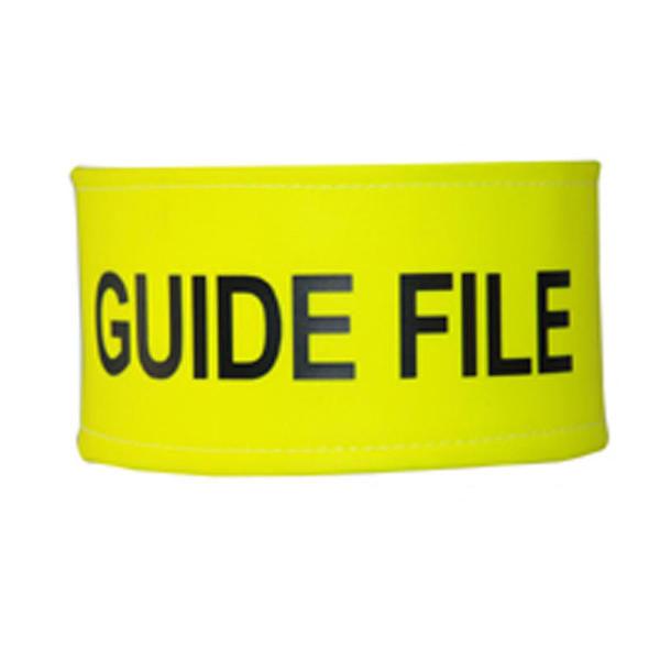 Brassard Guide File Jaune
