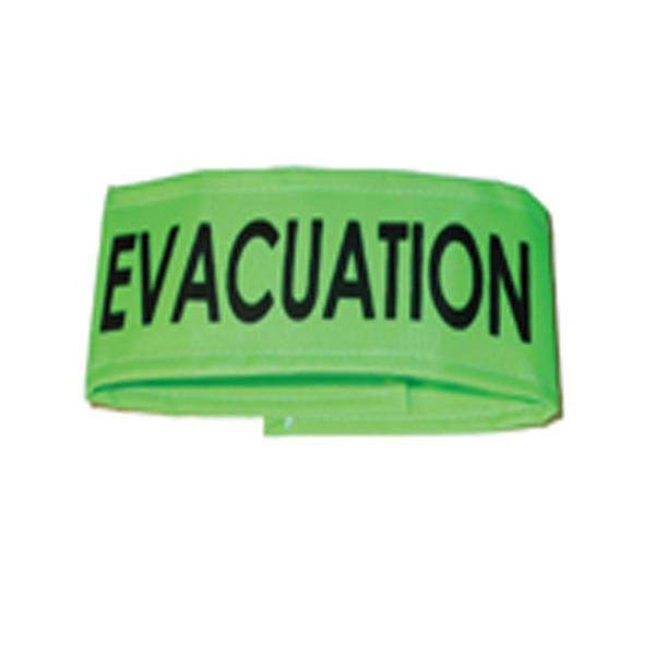 Brassard Évacuation Vert