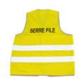 Gilet d'évacuation Serre File